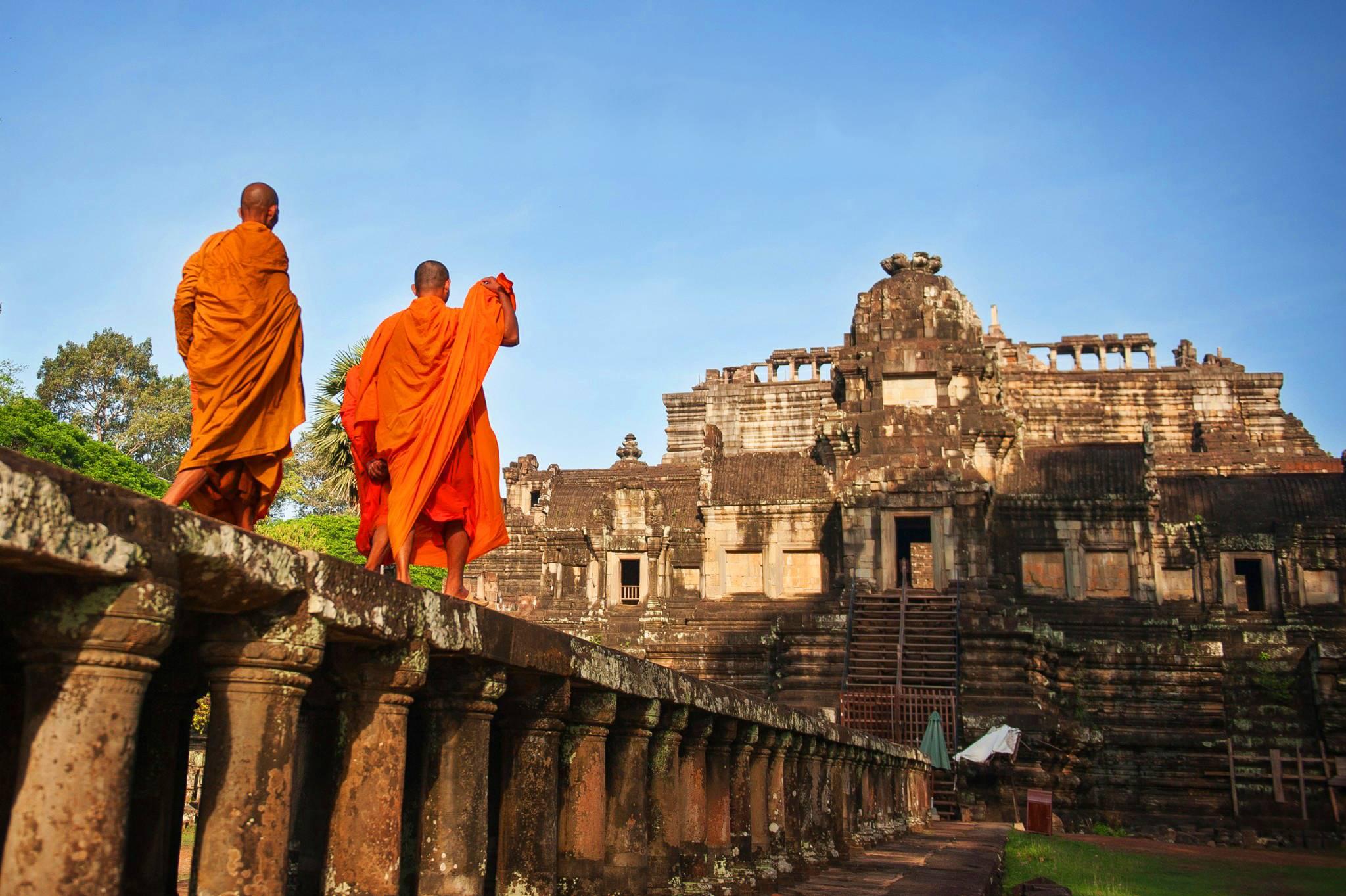 【匠心柬埔寨】柬埔寨大小吴哥澳门往返双飞六天五晚